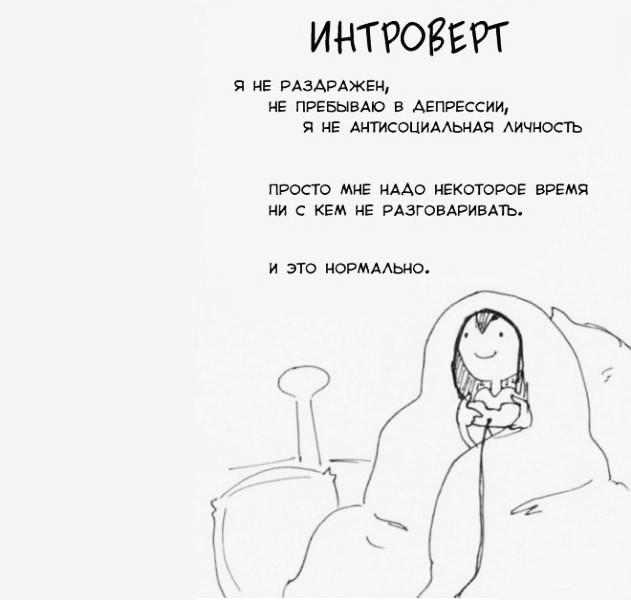 Интроверт фото