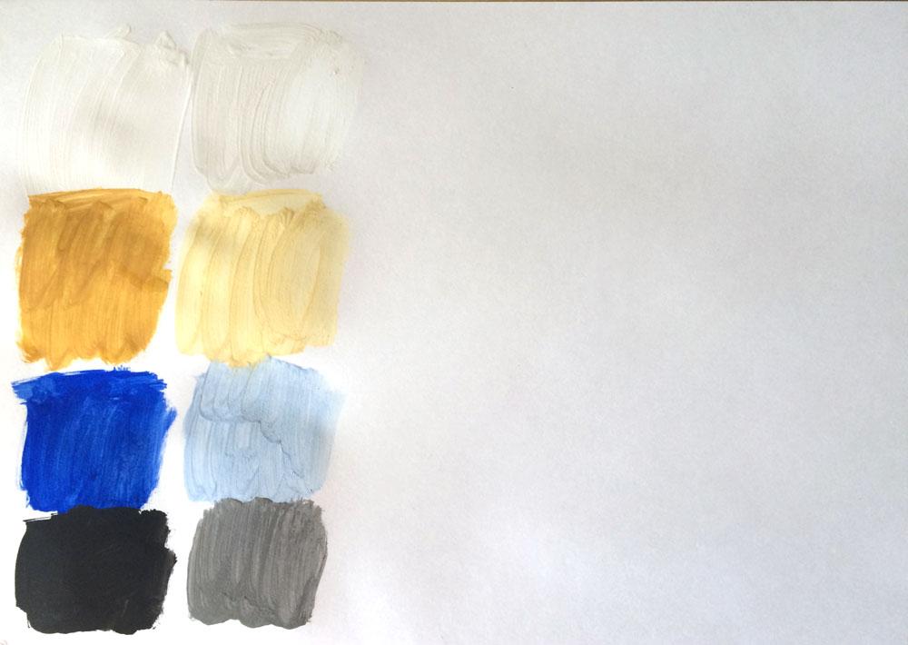 03956121cf789b Дальше — затемненный ряд, смешиваем цвета с черным.